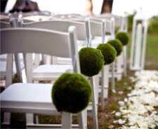 Seating arrangements at the ceremony